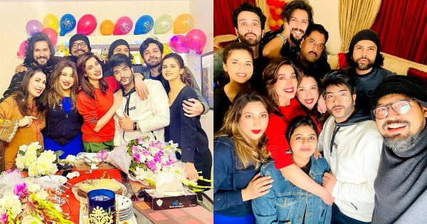 Birthday Party Pictures of Mehwish Hayat With Friends And Family