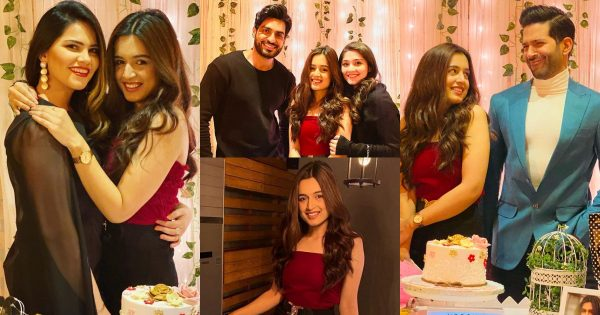 Beautiful Pictures from Birthday of Actress Hira Khan