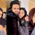 Beautiful Selfies of Sarah Khan and Falak Shabir