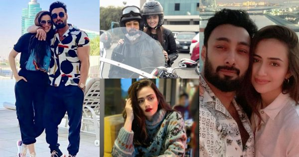 Sana Javed with her Husband Umair Jaswal – Latest Pictures