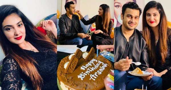 Actress Alizeh Tahir Husband Arsalan Birthday Pictures