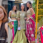 Model Fatima Hasan Looks Stunning At A Friend's Wedding
