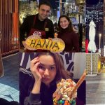 Beautiful Clicks of Hania Aamir from Dubai