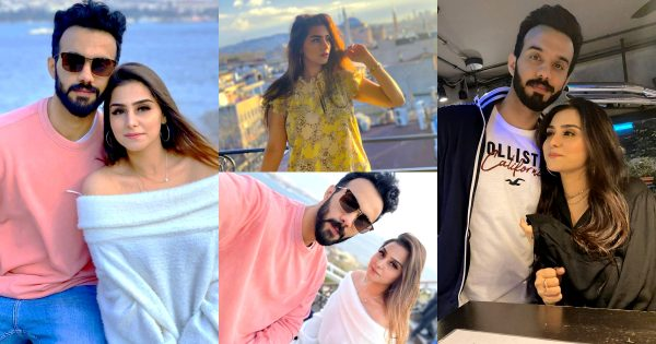 Aima Baig Sister Komal Baig Honeymoon Pictures from Turkey