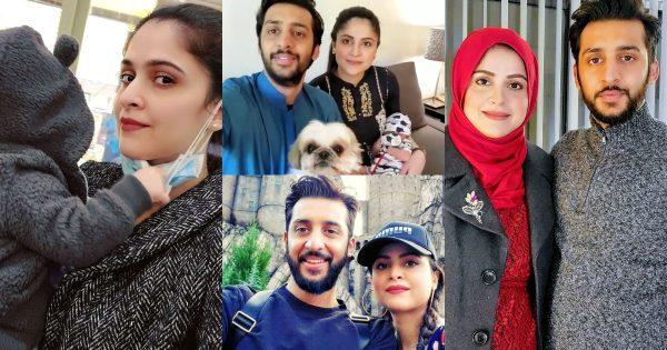 Beautiful Pictures of Arij Fatyma with Her Family
