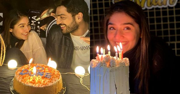 Dur-e-Fishan Celebrates Her Birthday With Her Co-Stars Friends