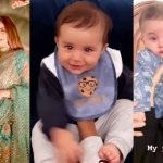 Adorable Video of Hamza and Naimal Son Mustafa Abbasi