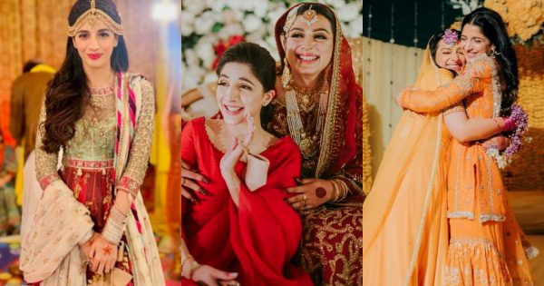 Beautiful Pictures of Mawra Hocane from her Friends Wedding