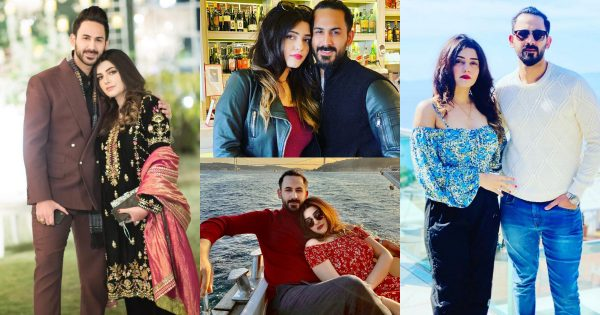 Latest Pictures of Shan Baig with his Wife Michelle Shan