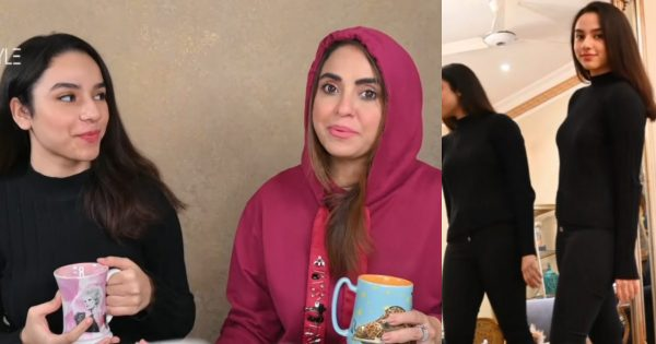 Hows Nadia Khan's Daughter Loss her Weight – Watch Video