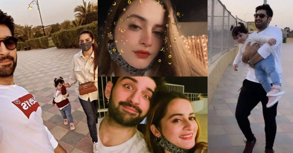 Aiman Khan and Muneeb Daughter Amal First Visit to Zoo