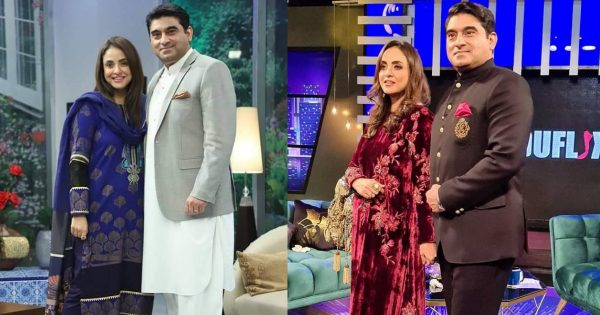 New Pictures of Nadia Khan with her Husband Faisal