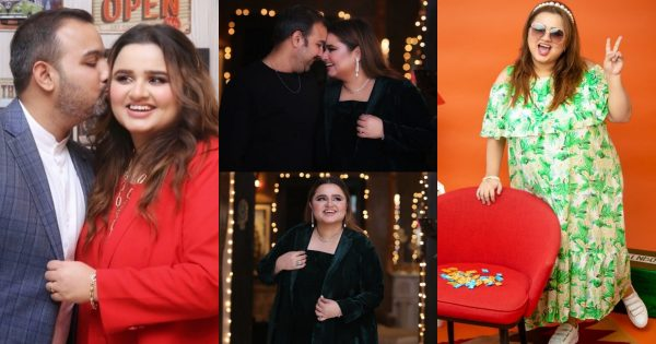 Comedian Faiza Saleem with her Husband – Latest Pictures