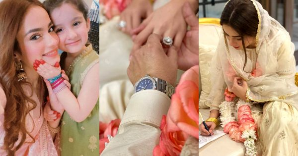 Model Alyzeh Gabol is officially Married – Nikah Pictures