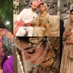 Actress Sanam Jung Sister Amna Jung Wedding Pictures