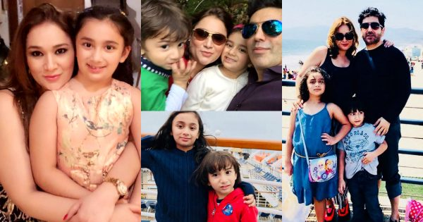 Faakhir Mehmood Pictures with his Family