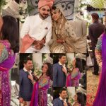 Sanam Jung with her Husband at here Sister Wedding