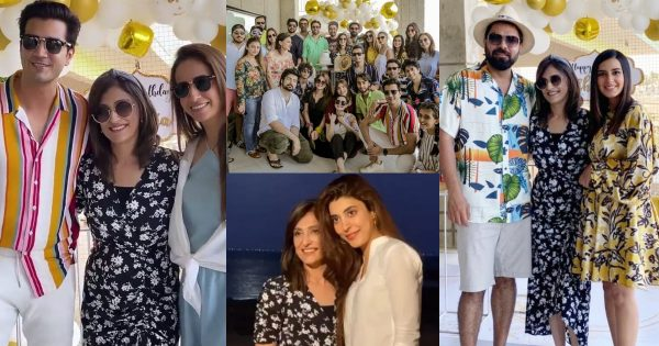 Celebrities Spotted at Shazia Wajahat Birthday Party