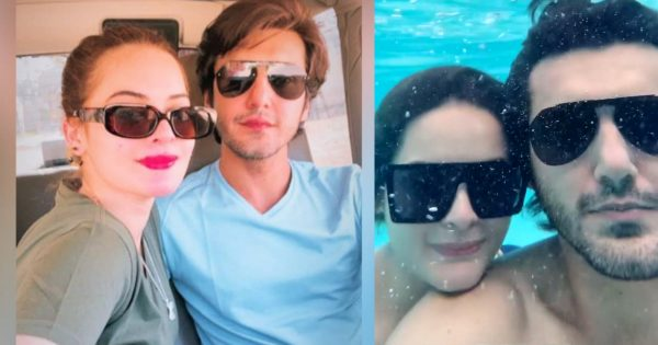 Public Criticism Minal Khan for her Latest Underwater Video with Ahsan Mohsin