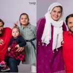 Shahid Afridi with his Daughters – Latest Photoshoot