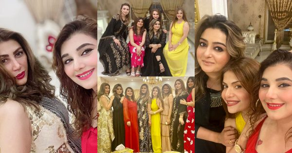 Javeria Saud Hosted Dinner for her Friends – Beautiful Pictures