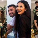 Amir Khan with Faryal Son Zaviyar First Birthday Pictures