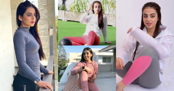 Gym Pictures of Beautiful Actress Yashma Gill