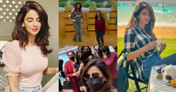 Saba Qamar Having Fun Time with Her Family – Beautiful Pictures