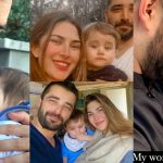 Adorable New Pictures of Hamza Ali Abbasi with his Son Mustafa
