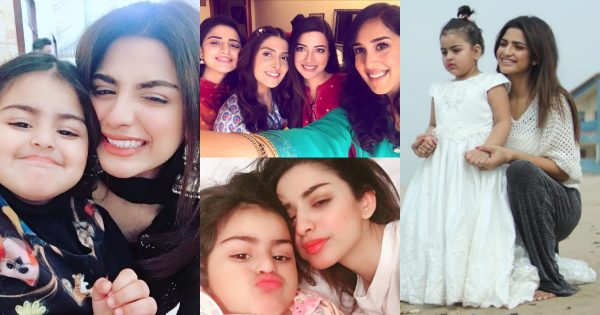 Beautiful Pictures of Chupke Chupke Famed Hira Soomro With Her Daughter