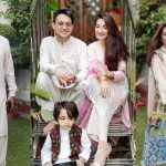 Eid Pictures of Host Shafaat Ali With His Family
