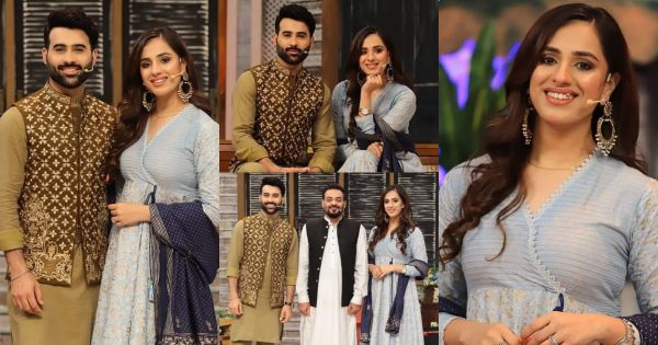 Faizan Sheikh with his Wife Maham Aamir At Jeeway Pakistan