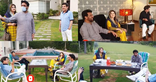Anchor Mubashar Luqman Hosted Iftar For Sahiba and Rambo