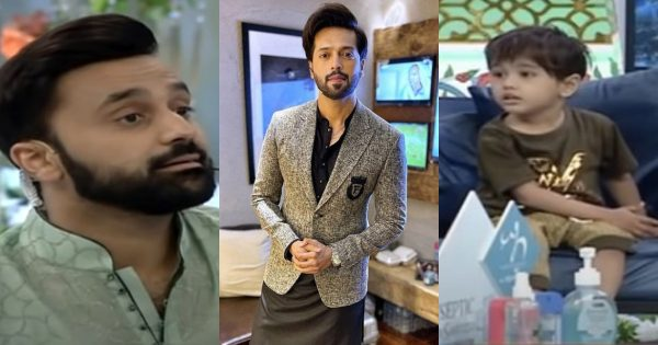 Fahad Mustafa Announced a Handsome Amount in Ramzan Transmission for Child