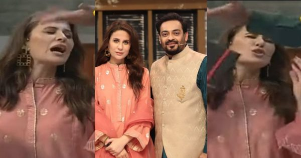 Nausheen Shah Got Angry On Aamir Liaquat – Video