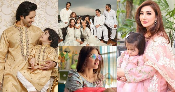 Beautiful Eid-ul-Fitr 2021 Pictures of Pakistani Celebrities – Day1