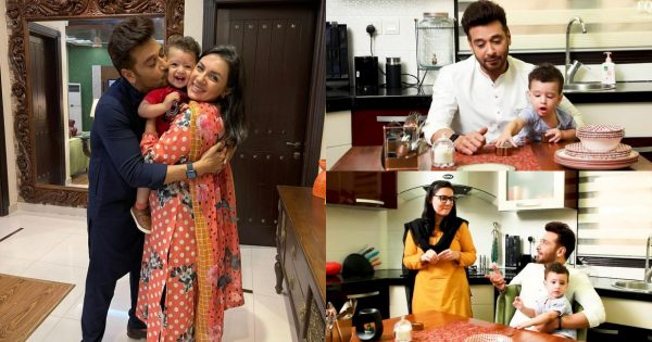 Faysal Qureshi Having Sehri with Family – Pictures and Video