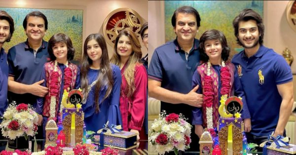 Producer Abdullah Kidwani Son Rayyan First Roza Khushae Pictures