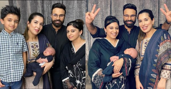 Youtuber Rahim Pardesi Latest Pictures with his Two Wives and Kids