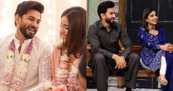 Saboor Aly and Ali Ansari Got Engaged