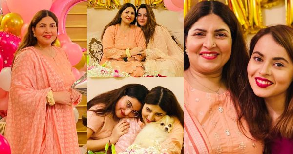 Shagufta Ejaz Celebrated Her Birthday with Her Daughters