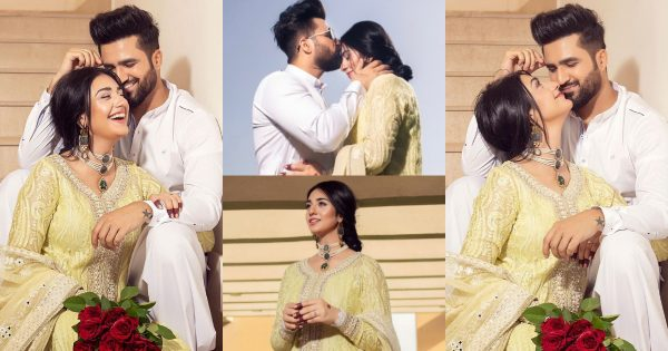 Sarah Khan and Falak Shabbir Beautiful Pictures on Eid-ul-Fitr 2021 – Day 1