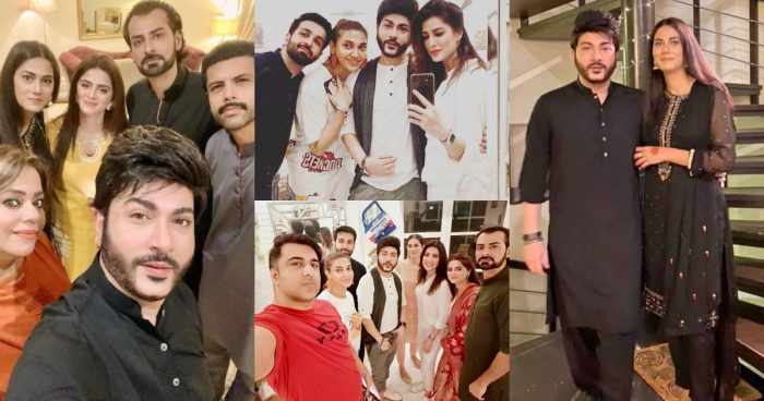Akif Ilyas Eid Pictures with his Wife and Friends
