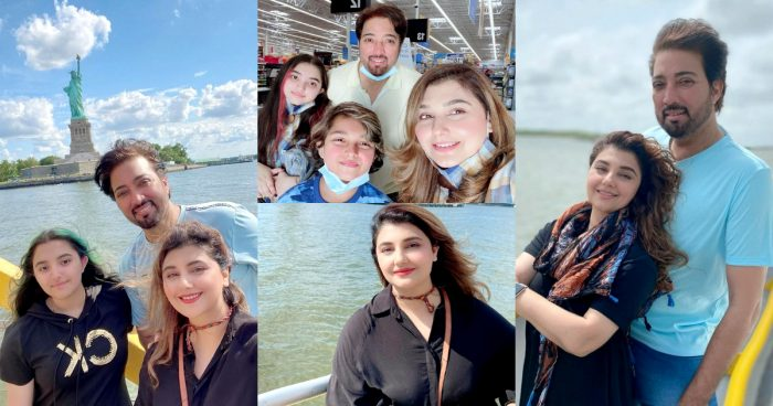 Javeria and Saud Vacationing in New York with Family
