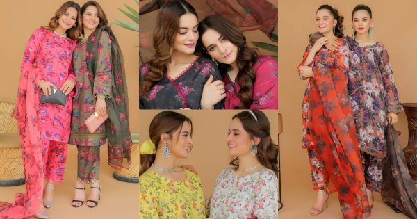 Aiman Khan and Minal Khan Shoot for their Own Brand AnM Closet Eid Collection