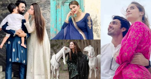 Stunning Eid Pictures of Pakistani Celebrities from Eid Day 2