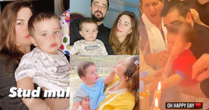 First Birthday Pictures of Hamza and Naimal Son Musfata