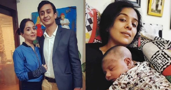 Actress Yasra Rizvi Shared Adorable Picture with her New Born Son