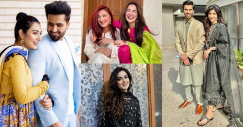 Celebrities Pictures of From Eid-ul-Adha 2021 Day 2