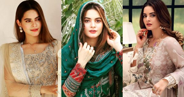 Minal Khan Looks Gorgeous in Eastern Summer Outfits